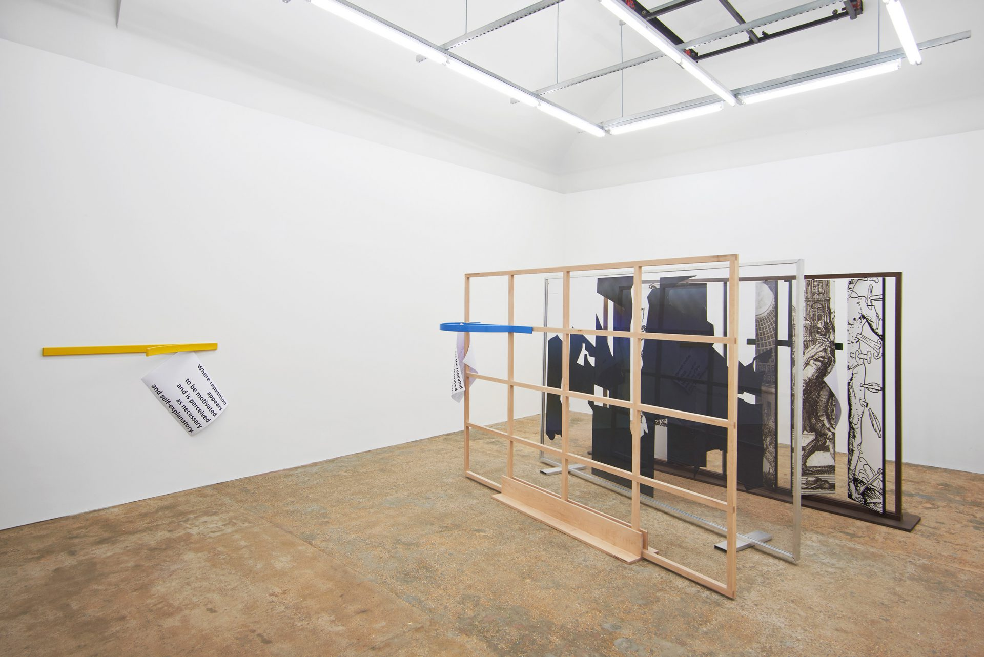 Present: Falke Pisano, Instrument for a Spatial Conception of Repetition, 2019