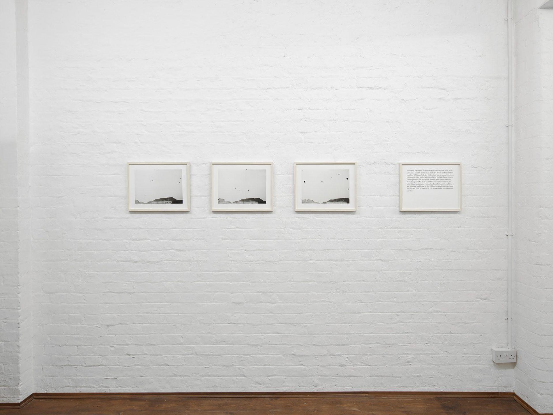 A WORK: Andrea Büttner, Ruth Proctor, Joachim Schmid, Anne Tallentire, 2019