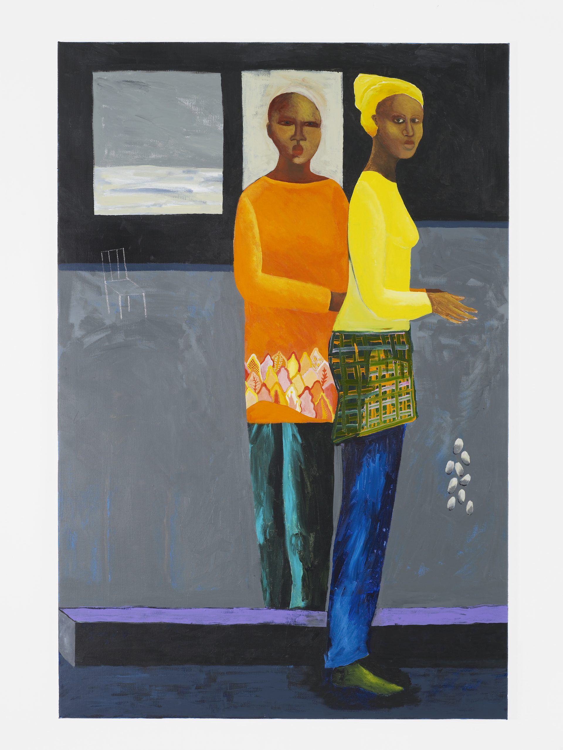 Lubaina Himid in 'Mixing It Up: Painting Today', Hayward Gallery, 9 September – 12 December 2021