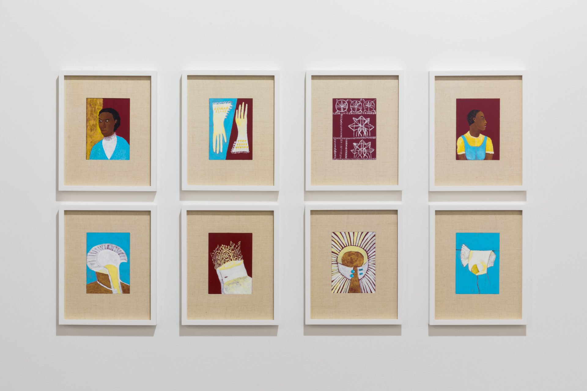 Lubaina Himid in 'RELATIONS: Diaspora and Painting', Esker Foundation, 24 July –27 November 2021
