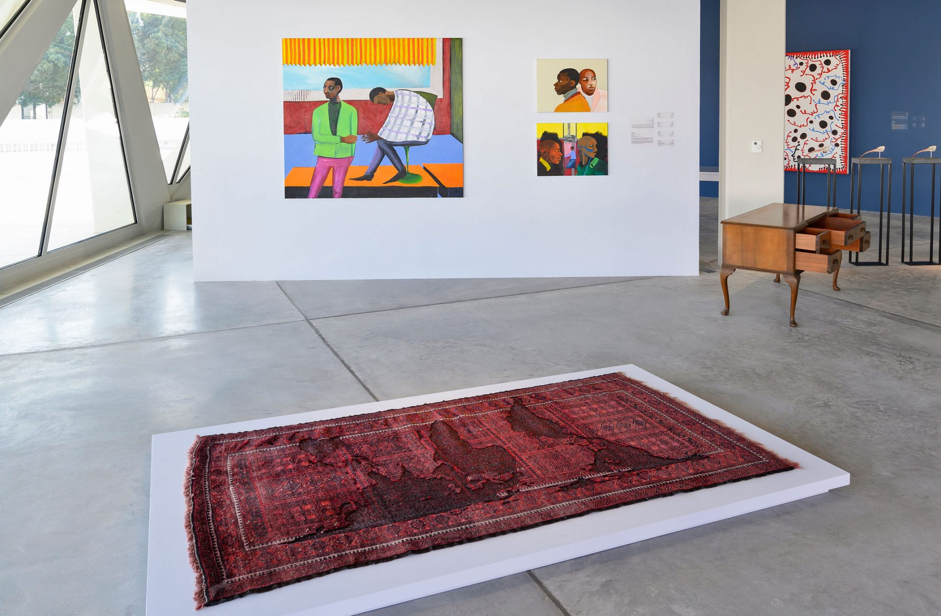 Lubaina Himid and Bruno Pacheco in Unsettled Objects, Sharjah Art Foundation, 12 March – 15 June 2021