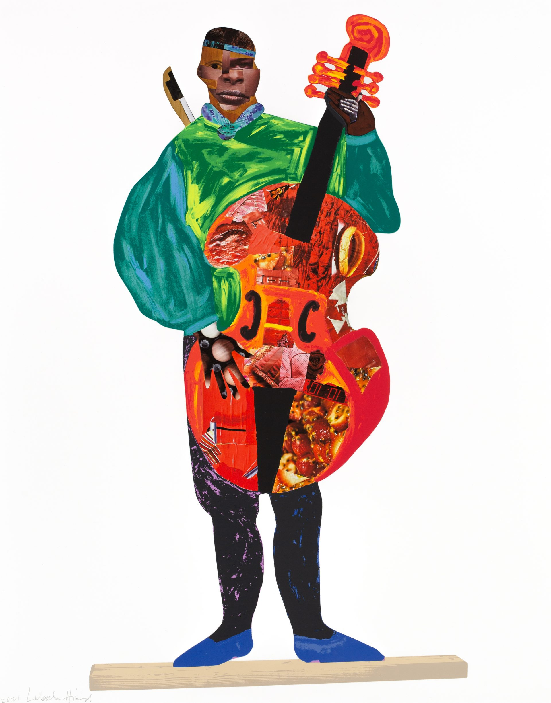 22.06.21 – Lubaina Himid print edition featured in Counter Editions portfolio for 'Tate Modern 21 Years'