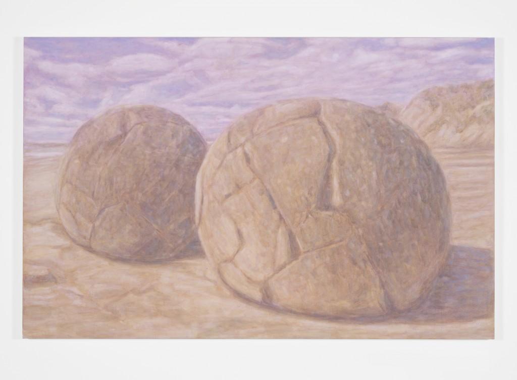 Shoreline, 2014  Oil on canvas 160 x 250 cm