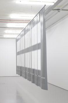 SUEÑO LATINO, 2015Custom-made ventilated haulage tarpaulin  3 x 10.2 m